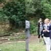 inauguration du jardin des Rambles